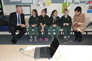 Governor of NSW with CCK students