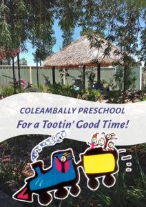 Coleambally Preschool Book