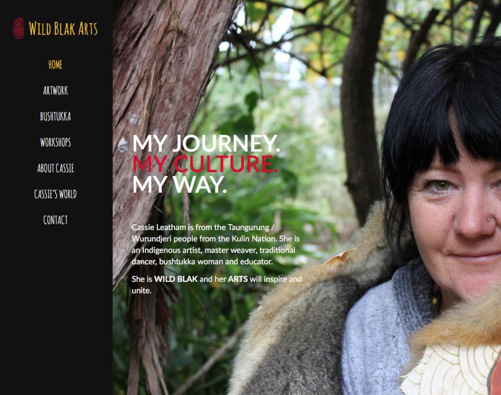 Wild Blak Arts Homepage